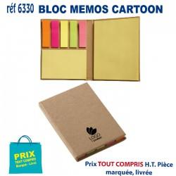 BLOC MEMOS CARTOON REF 6330