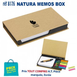 NATURA MEMOS BOX REF 8176
