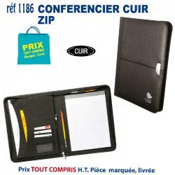 CONFERENCIER CUIR ZIP REF 1186 1186 conférenciers 18,55 €