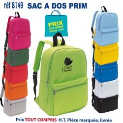 SAC A DOS PRIM REF 8149 8149 SAC A DOS 3,49 €