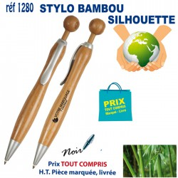 STYLO BAMBOU SILHOUETTE REF 1280