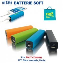 BATTERIE SOFT REF 8544 8544 BATTERIE DE SECOURS - CHARGEUR 5,47 €