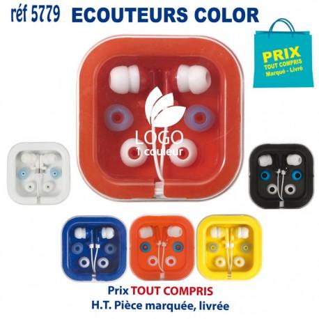 ECOUTEURS COLOR REF 5779 5779 ECOUTEURS - HAUT PARLEUR 0,95 €