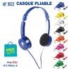 CASQUE PLIABLE REF 9572 9572 ECOUTEURS - HAUT PARLEUR 3,46 €