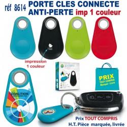 PORTE CLES CONNECTE ANTI PERTE 1 COULEUR REF 8614-1C 8614-1C OBJETS CONNECTES 4,12 €