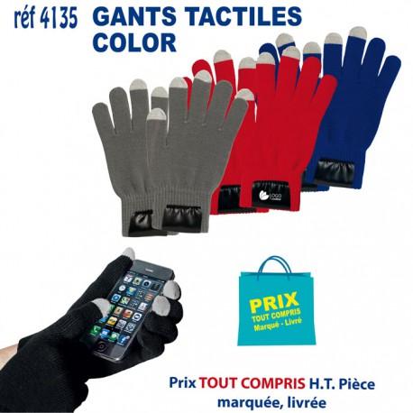GANTS TACTILES COLOR REF 4135 4135 ACCESSOIRES SMARTPHONE TABLETTE 2,40 €