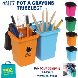POT A CRAYONS TRISELECT REF 8177 8177 Pots à crayons 1,26 €