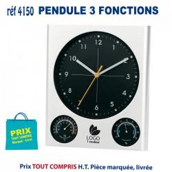PENDULE 3 FONCTIONS REF 4150