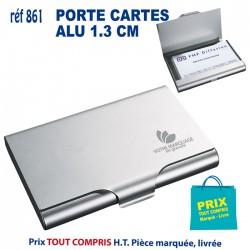 PORTE CARTES DE VISITE ALU 1.3 CM REF 861 861 Porte cartes de visite 1,45 €