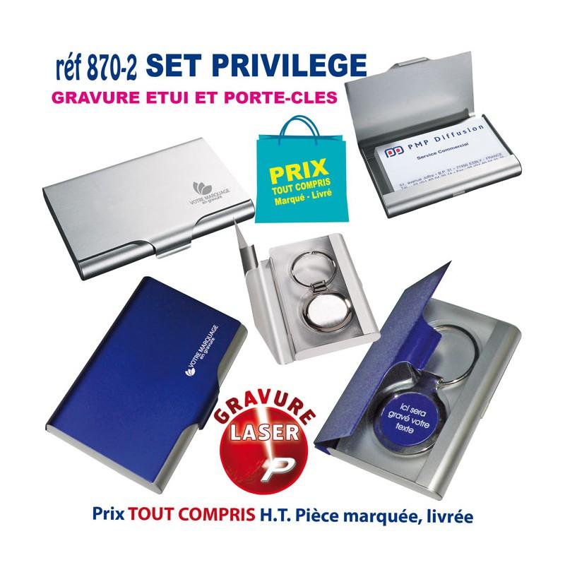 SET PRIVILEGE REF 870 2 Porte Cartes De Visite 292
