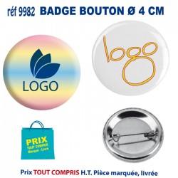 BADGE BOUTON Ø 4 CM REF 9982 9982 lacet tour de cou 0,28 €