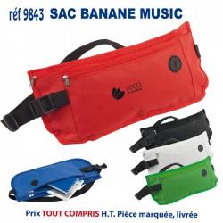 SAC BANANE MUSIC REF 9843 9843 SACS BANANE SACS CEINTURE 3,05 €