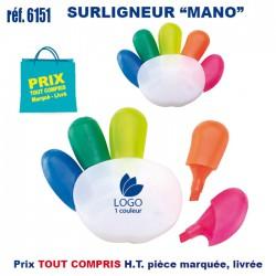 SURLIGNEUR MANO REF 6151 6151 Surligneur 1,35 €