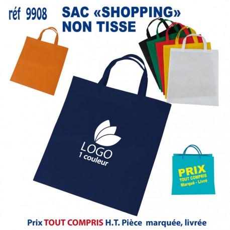 SAC SHOPPING ANSES COURTES REF 9908 9908 SACS SHOPPING - TOTEBAG 0,93 €