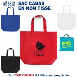 SAC CABAS EN NON TISSE REF 5612 5612 SACS SHOPPING - TOTEBAG 1,01 €