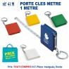 PORTE CLES METRE REF 41 M 41 M PORTE CLES PLASTIQUE 0,55 €